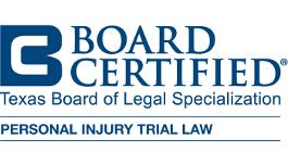 Board Certified - Texas Board of Legal Specialization